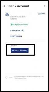 Check Central Bank Of India Balance Through BHIM UPI