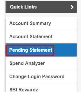 [Easiest method] SBI account statement online download 4