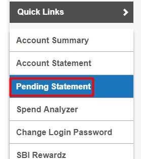 [Easiest method] SBI account statement online download 4