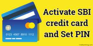 sbi credit card activation process