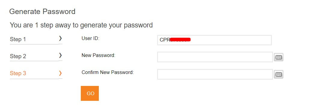 create password for icici bank internet banking