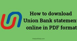 union bank statement download online
